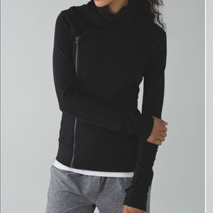 Lululemon double zip black jacket